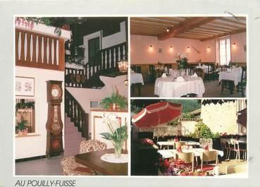 """CPSM FRANCE 71 """"Fuissé, restaurant E. Point"""""""