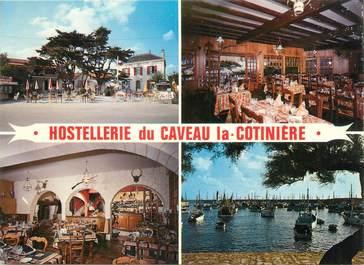 """CPSM FRANCE 17 """"La cotinière d'Oleron, hostellerie du caveau du port"""""""