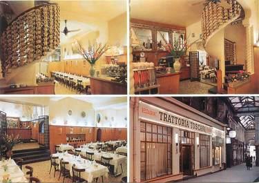 "CPSM FRANCE 75002 ""Paris, restaurant Trattoria Toscana"""