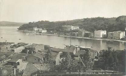 """CPA TURQUIE """"Constantinople, baie de Thérapia"""""""