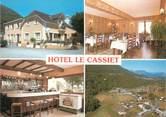 """65 Haute PyrÉnÉe CPSM FRANCE 65 """"Adast, hôtel restaurant Le Cassiet"""""""