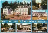 """56 Morbihan CPSM FRANCE 56 """"Hôtel Tourne Bride, abbaye de Langonnet"""""""