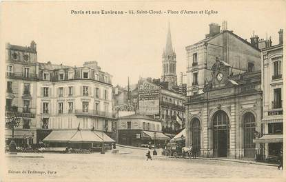 "CPA FRANCE 92 ""Saint Cloud, Place d'Armes"""