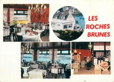 "CPSM FRANCE 56 ""Plouhinec, restaurant les Roches Brunes"""