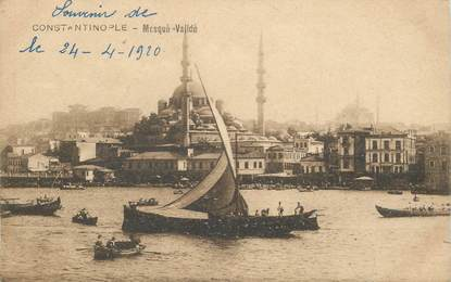 "CPA TURQUIE ""Constantinople, Mosquée"""