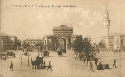 """CPA TURQUIE """"Constantinople, Place du Ministère de la Guerre"""""""