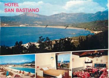 """CPSM FRANCE 20 """"Corse, Calcatoggio, transat hôtel San Bastiano"""""""