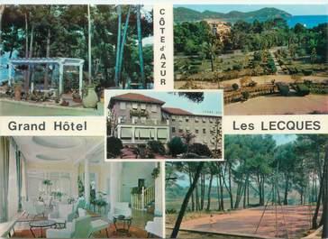 """CPSM FRANCE 83 """"Saint Cyr Les Lecques, grand hôtel"""""""