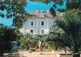 """40 Lande CPSM FRANCE 40 """"Eugénie Les Bains, chez Christine et Michel Guerard, l'hôtel et les jardins"""""""