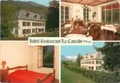 """38 Isere CPSM FRANCE 38 """"Bourg d'Oisans, hôtel restaurant la Cascade"""""""