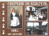 "56 Morbihan CPSM FRANCE 56 ""Auray, crêperie de Keroyal"""