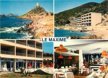 "CPSM FRANCE 20 ""Corse, Ajaccio, hôtel Le Maxime"""