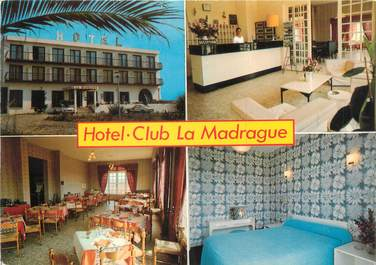 "CPSM FRANCE 20 ""Corse,Lucciana, hôtel Club La Madrague"""