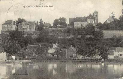 "CPA FRANCE 89 ""Chatel Censoir, le port"""