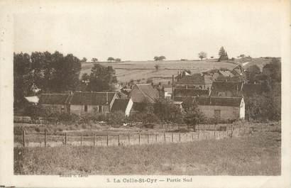 """CPA FRANCE 89 """"La Celle Saint Cyr, partie sud"""""""