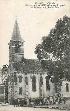 "CPA FRANCE 89 ""Chigny, l'église"""