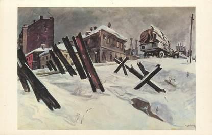 "CPA RUSSIE ""Vue de Moscou, 1941"""