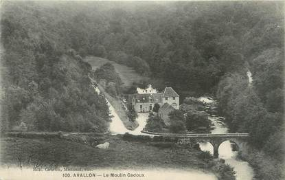 "CPA FRANCE 89 ""Avallon, le moulin Cadoux"""