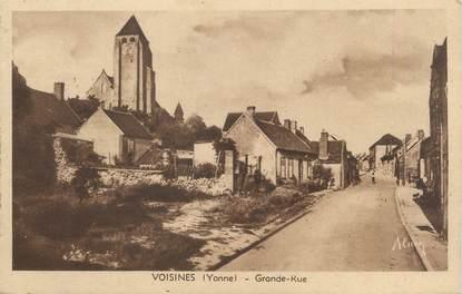 "CPA FRANCE 89 ""Voisines, grande rue"""