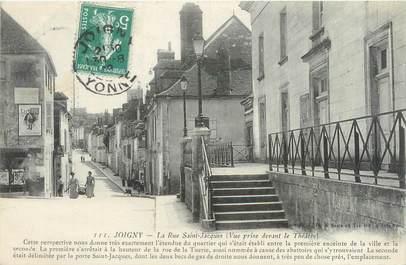 "CPA FRANCE 89 ""Joigny, la rue Saint Jacques"""