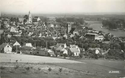 """CPSM FRANCE 89 """"Joigny sur Yonne, vue panoramique"""""""