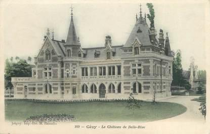 """CPA FRANCE 89 """"Cézy, le château de Belle Rive"""""""
