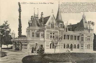"""CPA FRANCE 89 """"Cézy, château de Belle Rive"""""""