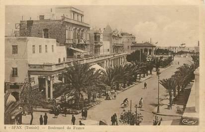 """CPA TUNISIE """"Sfax, bld de France"""""""