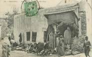 """Tunisie CPA TUNISIE """"Bizerte, marchand de tapis"""""""