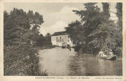 "CPA FRANCE 89 ""Saint Florentin, le moulin de Montleu"""