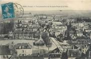"""89 Yonne CPA FRANCE 89 """"Sens, vue perspective sur la partie Nord de la ville"""""""