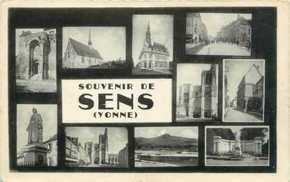 """CPSM FRANCE 89 """"Souvenir de Sens"""""""