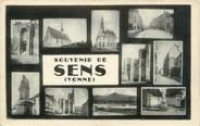 """89 Yonne CPSM FRANCE 89 """"Souvenir de Sens"""""""