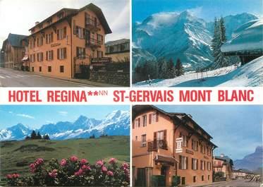 """CPSM FRANCE 74 """"Saint Gervais Mont Blanc, hôtel Regina"""""""