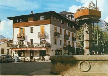 """CPSM FRANCE 74 """"Saint Gervais Les Bains, hôtel Couttet """""""