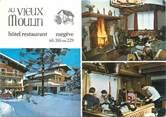 """74 Haute Savoie CPSM FRANCE 74 """"Megève, hôtel restaurant au vieux moulin"""""""
