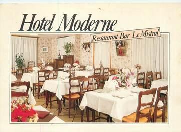 """CPSM FRANCE 13 """"Tarascon, hôtel Moderne, restaurant Bar Le mistral"""""""