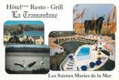 """13 Bouch Du Rhone CPSM FRANCE 13 """"Saintes Maries de la Mer, hôtel restaurant La Tramontane"""""""