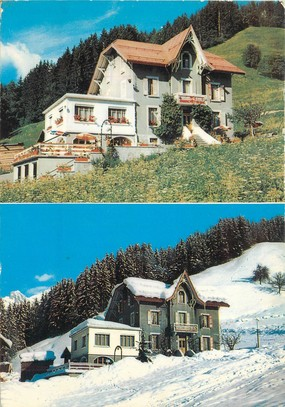 "CPSM FRANCE 74 ""Le Grand Bornand, hôtel pension Les Glaieuls """