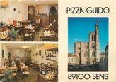 "89 Yonne CPSM FRANCE 89 ""Sens, restaurant Pizza Guido"""