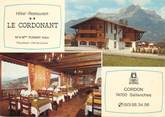 """74 Haute Savoie CPSM FRANCE 74 """"Sallanches, hôtel restaurant Le Cordonant"""""""