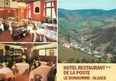 """68 Haut Rhin CPSM FRANCE 68 """"Le Bonhomme, hôtel restaurant de la poste"""""""