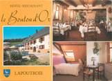 """68 Haut Rhin CPSM FRANCE 68 """"Lapoutroie, hôtel restaurant Le Bouton d'Or"""""""