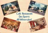 "68 Haut Rhin CPSM FRANCE 68 ""Wittersdorf, café restaurant des Sports"""
