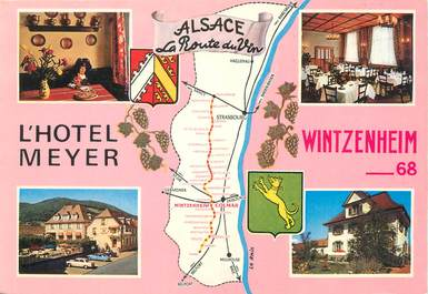 "CPSM FRANCE 68 ""Wintzenheim, l'hôtel Meyer et sa villa"""