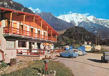 """CPSM FRANCE 74 """"Saint Gervais les Bains, camping caravaning de Miage"""""""