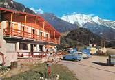 """74 Haute Savoie CPSM FRANCE 74 """"Saint Gervais les Bains, camping caravaning de Miage"""""""