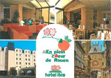 """CPSM FRANCE 76 """"Rouen, hôtel Ibis"""""""