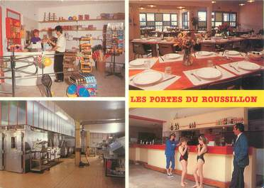 """CPSM FRANCE 66 """"Port Barcares, village vacances les portes du Roussillon"""""""