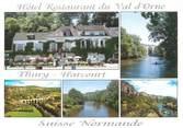 """14 Calvado CPSM FRANCE 14 """"Thury Harcourt, hôtel restaurant du Val d'Orne"""""""